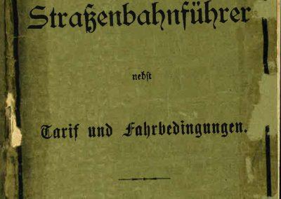 Fahrplan Sommer 1902